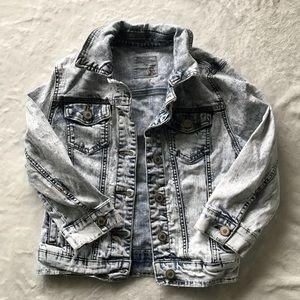 Jackets & Blazers - Acid washed jean jacket